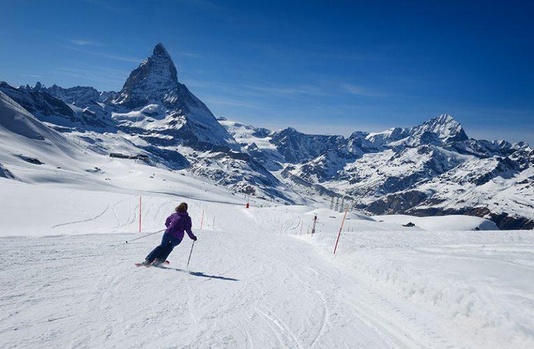 Aprendiendo a esquiar , movimientos